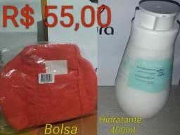Bolsa Rosa Tododia com brinde.