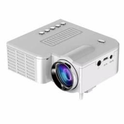 Mini projetor portátil home theater led USB,SD,HDMI UC28A