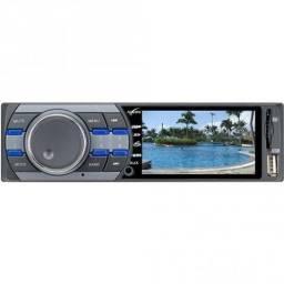 Radio Multimidia MP5,entrada USB,cartão SD e Auxiliar novo 180 Watts