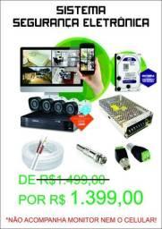 Kit câmeras segurança Intelbras