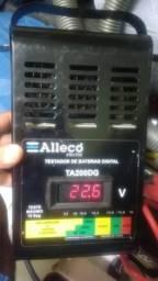 Testador de baterias digital