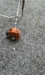 Vendo máquina de roçar gasolina esthil f80