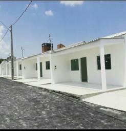 Casas 2qrts residencial fechado prox Atack última unidade