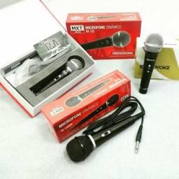 Microfones com e sem fio