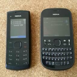 Nokia X1-01 e Nokia 201