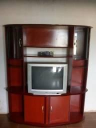 Tv, Estante, Receptor