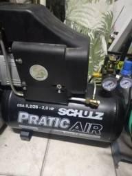 Compressor de Ar 8,2/25 - 2HP-PraticAir Schulz