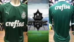 Camisa Palmeiras I 19/20 s/n° - Torcedor Puma Patch Masculina, usado comprar usado  Barra do Mendes