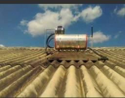 Vendo aquecedor de água e placa solar