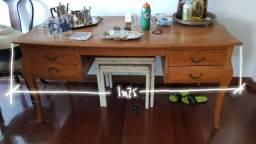 Mesa/ Escrivaninha de madeira Velha Bahia
