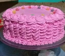 Faço bolos sob encomenda