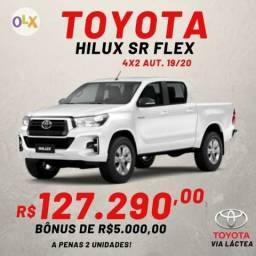 Toyota Hilux SR Flex 4X2 Aut. 2020 - 163 CV - Bônus de 5.000,00 - 2019
