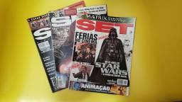 Título do anúncio: Kit revista Set Cinema e vídeo Star Wars