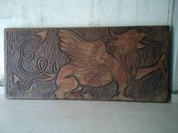 Quadro de madeira maciça