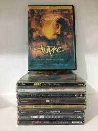 Vendo 8 CDS originais de tupac, mais filme e cd Kanye West de brinde