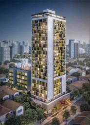 Apartamento à venda com 1 dormitórios em Vila madalena, São paulo cod:106215