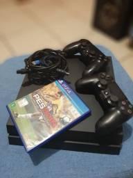 Vendo ps4 500gb de memória 1 jogo 2 controles