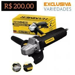 Esmerilhadeira Angular 710W Hammer + Entrega Grátis