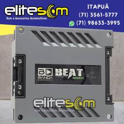 Módulo Amplificador Banda Beat 3001 3000WRms 1 Ohm instalado na Elite Som