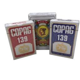 Jogo de cartas Baralho canastra Copag + Baralho Espanhol Truco 2 peças