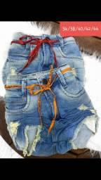 Shorts jeans com laicra #promoção Últimas peças