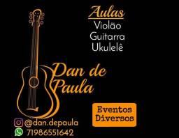 Aulas de música e Eventos