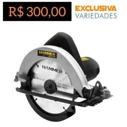 Serra Circular 1100W Hammer + Entrega Grátis