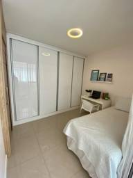 Lindo 02 quartos alto padrão montado e decorado com 02 vagas soltas na Praia da Costa