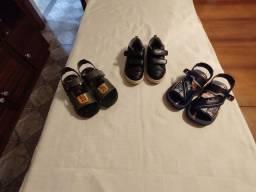 Sapatos infantis (menino)