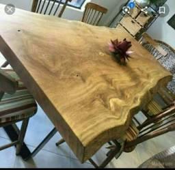 Mesas rusticas em madeira de lei. Trabalhamos com toda linha de moveis.