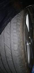 Vendo roda aro 17 ou troco em aro 15