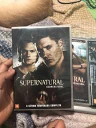 Vendo DVDs Supernatural