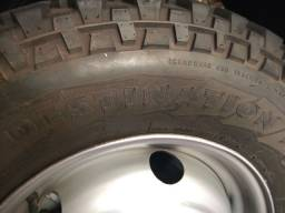 Vendo 4 pneu e 5 roda 16 Iveco