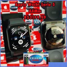 Vendo Apple Wacht Serie 5 44MM 32GB Usado Novo Com Garantia De Loja