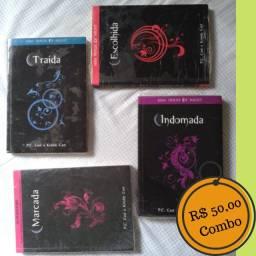 4 Livros da Série House of Night