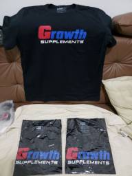 Camisa GROWTH Nova 100% Original (Casual ou Treino)