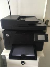 Impressora Color laser jet HP Pro MFP M117 fw 110V com nobreak