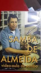 Dvd de bateria Celso Samba de Almeida Raro