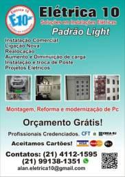 Empresa especializada em padrão Light/Enel