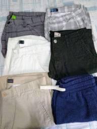 Bermudas e calça