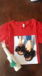 Título do anúncio: T-shirt de luxo