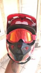 Vendo capacete FOX - V1 - FA-18. TAMANHO M (58)