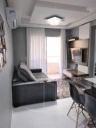 Apartamento com 2 dormitórios, semi-mobiliado no Bairro Ipiranga - São José/SC.