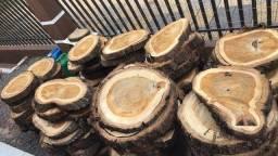 Título do anúncio: Rodelas de madeira ipê