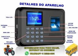Título do anúncio: Relógio De Ponto Com Leitor Biometria Digital 600 Funcionários *Enviamos para todo Brasil*