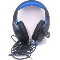 Título do anúncio: Headset Gamer com Microfone Fone de Ouvido Gamer Para Computador Notebook Ps4 Ps
