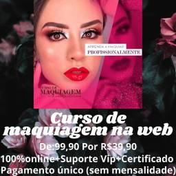 Título do anúncio: Curso de maquiagem na web 1.0