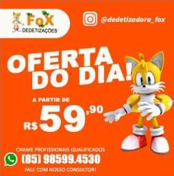 DEDETIZAÇÃO DEDETIZADORA APARTIR 59,90