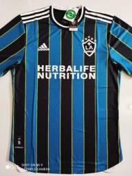 Camisa LA Galaxy Away Player Adidas 21/22 - Tamanho: G
