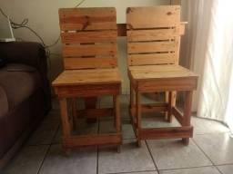 Cadeiras de pallet